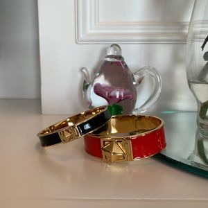 Authentic Kate Spade Cuffs + a bonus!